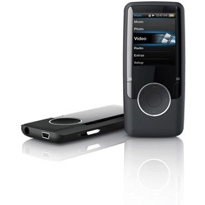Coby MP620 8 GB Black Flash Portable Media Player - Audio Player, Video Player, Photo Viewer, FM Tuner - 1.8&quot; Active Matrix TFT Color LCD - 12 Hour Audio