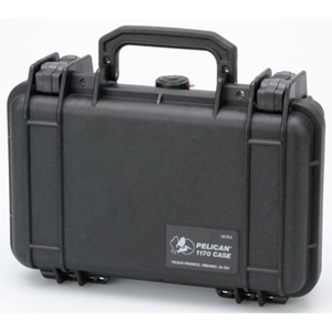 Pelican 1170 Carrying Case for Handheld PC - Black - Stainless Steel, Copolymer