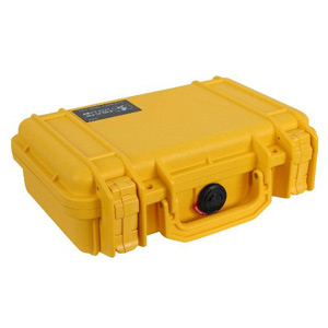 Pelican 1170 Carrying Case for Handheld PC - Yellow - Stainless Steel, Copolymer