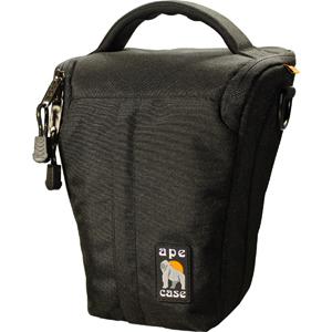 "Ape Case ACPRO650 Camera Case - Holster - Nylon - Black Top-loading10"" x 8"" x 6"""