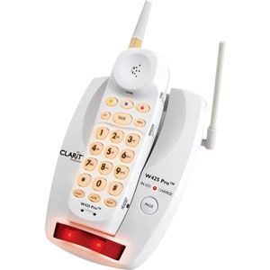 Clarity W425 Cordless Phone - 900 MHz - DECT - 1 x Phone Line - Backlight
