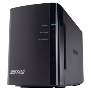 Buffalo LinkStation Duo LS-WX4.0TL/R1 Network Storage Server - 4 TB (2 x 2 TB) - 1 x USB Ports