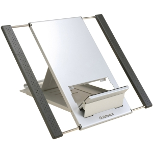 Ergoguys GTLS-0055 Notebook Stand - Up to 17&quot; Screen Support - 10.8&quot; Height x 7.2&quot; Width - Aluminum - Silver, Graphite