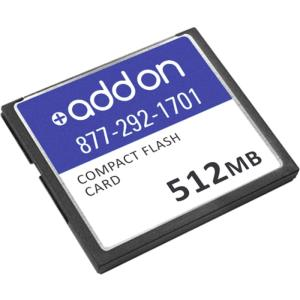 AddOn - Network Upgrades AOCISCO/512CF 512 MB CompactFlash (CF) Card - 1 Card