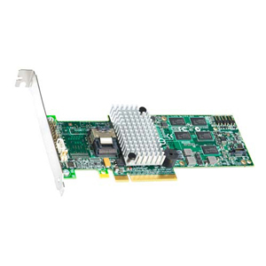 Intel RS2BL040 4-Ports SAS RAID Controller - Serial Attached SCSI - PCI Express x8 - Plug-in Card - RAID Support - 0, 1, 5, 6, 10, 50, 60 RAID Level - 512MB