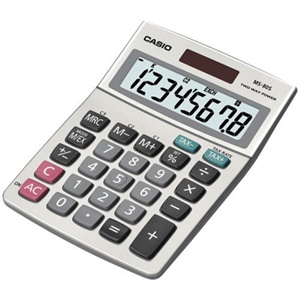 Casio MS-80S-S-IH Simple Calculator 8 Character(s)