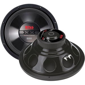 Boss CX15 Woofer - 500 W RMS - 1 Pack - 4 Ohm - 15""