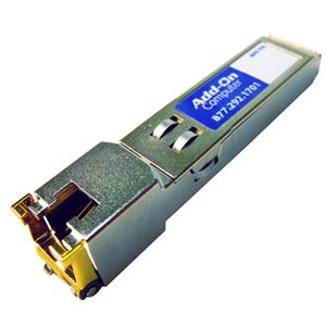 AddOn - Network Upgrades TAA/Cisco/MSA Compliant GLC-T 1000Base-TX SFP - 1 x 1000Base-T