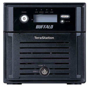 Buffalo TeraStation Duo TS-WX4.0TL/R1 Hard Drive Array - 2 x HDD Installed - 4 TB Installed HDD Capacity - RAID Supported - 2 x Total Bays - Gigabit Ethernet - Network (RJ-45) - USB 2.0