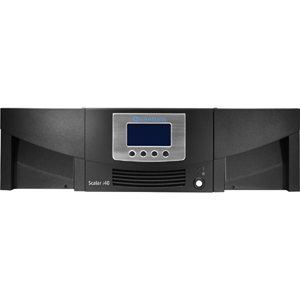 Quantum Scalar i40 Tape Library - 2 x Drive/25 x Slot - LTO Ultrium 5 - 37.50 TB (Native) / 75 TB (Compressed) - Serial Attached SCSI (SAS)