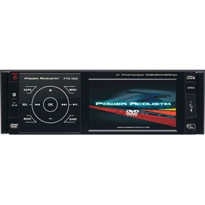 Power Acoustik PTID-3600 Car DVD Player - 200 W RMS - Single DIN - AM, FMIn-dash
