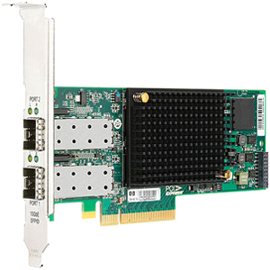 HP StorageWorks CN1000E Fibre Channel Host Bus Adapter 2 x - PCI Express 2.0 x8 - 10 Gbps