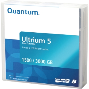 Quantum MR-L5MQN-01 Data Cartridge - LTO Ultrium - LTO-5 - 1.50 TB (Native) / 3 TB (Compressed) - 1 Pack