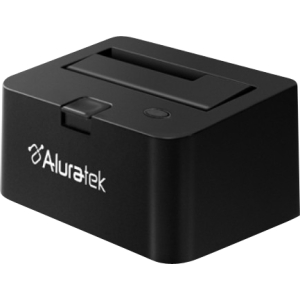 "Aluratek AHDDU200F Drive Dock - External - 1 x Total Bay - 1 x 3.5"" Bay - USB 3.0"