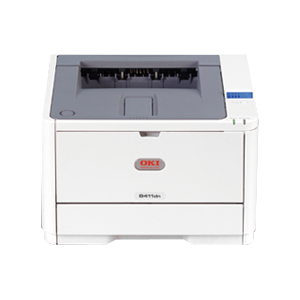 Oki B411D LED Monochrome Printer - 251 Sheet Input Capacity