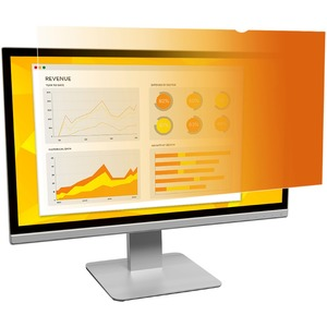 "3M GPF19.0 Gold Standard Monitor Privacy Filter Gold - 19"" LCD - Monitor"