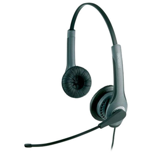 Jabra GN2000 20001-491 USB Duo OC Headset - Stereo - USB - Wired6.80 kHz - Over-the-head - Binaural - Semi-open