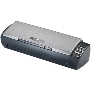 Plustek MobileOffice AD450 ADF Portable Document Scanner - 48 bit Color - 16 bit Grayscale - USB