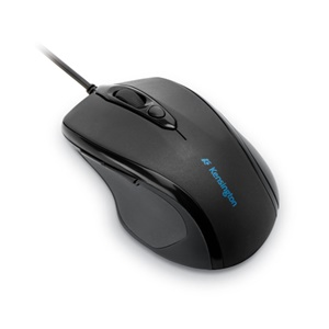 Kensington ProFit 72355 Mid-Size Mouse - Cable - Black - PS/2, USB - Scroll Wheel - Right-handed Only