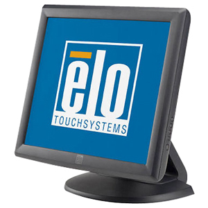 Elo 1715L Touchscreen LCD Monitor - 17&quot; - 5-wire Resistive - 1280 x 1024 - 5:4 - Dark Gray