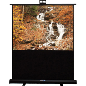 "Draper Piper Portable Projection Screen - 44"" x 58"" - Matte White - 73"" Diagonal - 4:3 - Portable"