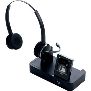 Jabra PRO 9460-Duo Headset - Mono - Wireless - DECT - 492.1 ft - Over-the-head - Monaural - Semi-open