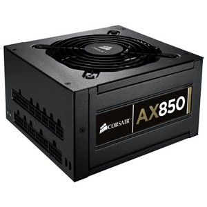 Corsair Professional AX850 ATX12V &amp; EPS12V Power Supply - 90% Efficiency - 850 W - Internal - 110 V AC, 220 V AC
