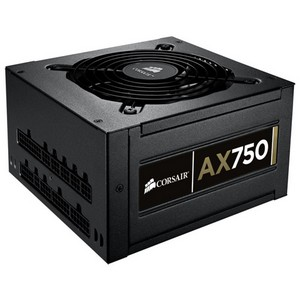 Corsair Professional AX750 ATX12V & EPS12V Power Supply - 90% Efficiency - 750 W - Internal - 110 V AC, 220 V AC
