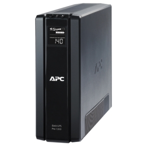 APC Back-UPS RS BR1300G 1300 VA Tower UPS - 1.30 kVA/780 WTower 0.07 Hour Full Load - 5 x NEMA 5-15R - Battery Backup System, 5 x NEMA 5-15R - Surge-protected