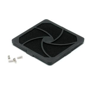 StarTech.com Cleanable Air Filter for 120 mm Computer Case Fan - Black
