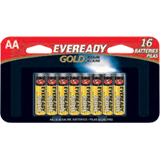 Eveready Gold A91BP-16H General Purpose Battery - AA - Zinc Manganese Dioxide - 1.5 V DC