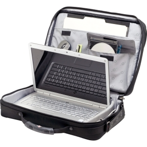 "Wenger LEGACY Carrying Case for 17"" Notebook - Black, Gray"