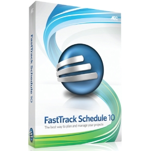 AEC Software FastTrack Schedule 10 Concurrent-User Version - Complete Product - 5 User, 5 Concurrent User - Project Management/Version Control - CD-ROM - Mac
