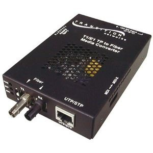 Transition Networks Point System SSDTF1012-120 Media Converter - 1 x RJ-48 Network, 1 x ST Network - T1/E1 - External