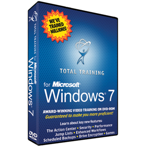 Total Training for Microsoft Windows 7 - Training/WBT - 1 DVD Case Retail