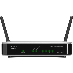 Cisco RV 120W Wireless-N VPN Firewall - 4 Port IEEE 802.11n