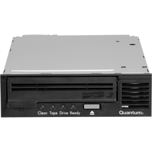 "Quantum TC-L32AN-BR-B LTO Ultrium 3 Tape Drive - 400 GB (Native)/800 GB (Compressed) - SAS - 5.25"" Width - 1/2H Height - Internal"