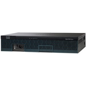 Cisco 2901 Integrated Services Router - 2 x PVDM, 4 x HWIC, 2 x CompactFlash (CF) Card, 1 x Services Module - 2 x 10/100/1000Base-T WAN