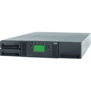 IBM TS3100 Tape Library - 24 x Slot - LTO Ultrium 4 - 19.20 TB (Native) / 38.40 TB (Compressed)