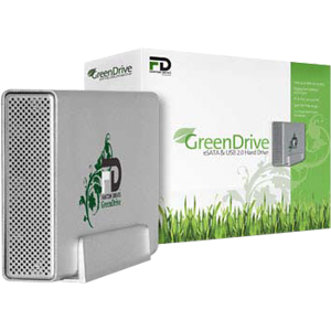 Fantom GreenDrive GD2000EU32 2 TB External Hard Drive - eSATA, USB 2.0 - 32 MB Buffer