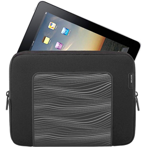 Belkin F8N278 Carrying Case (Sleeve) for iPad - Black - Neoprene