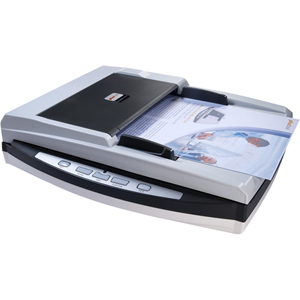 Plustek SmartOffice PL1530 15PPM Dual USB Document Scanner - 48 bit Color - 16 bit Grayscale - 600 dpi - USB
