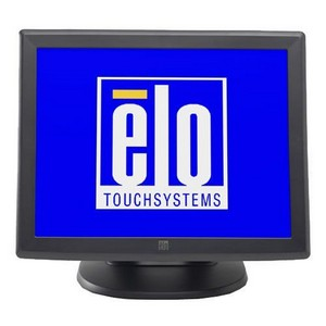 "Elo 1715L 17"" LCD Touchscreen Monitor - 5:4 - 25 ms - Surface Acoustic Wave - 1280 x 1024 - 16.2 Million Colors - 800:1 - 280 Nit - USB - VGA - Dark Gray"