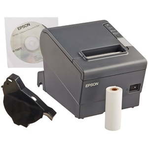 Epson TM-T88V Receipt Printer - Monochrome - 300 mm/s Mono - USB