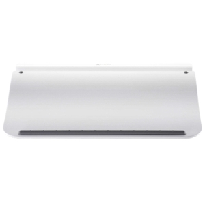 "Choiix ""Comforter"" Lap desk Cooling Pad White/gray for 12""-17"" support - Plastic, Polyurethane, EVA (Ethylene Vinyl Acetate)"