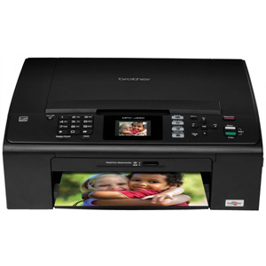 Brother MFC-J220 Inkjet Multifunction Color Printer - 100 sheets input