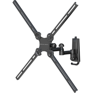"Level Mount AIMTA Mounting Arm for Flat Panel Display - 10"" to 40"" Screen Support - 80.00 lb Load Capacity - Black"