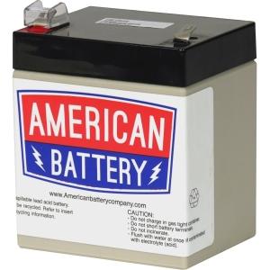 Image of ABC Replacement Battery Cartridge - 5000 mAh - 12 V DC - Sealed Lead Acid (SLA) - Maintenance-free - Hot Swappable - 3 Year Minimum Battery Life - 5 Year Maximum Battery Life