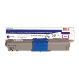 Oki High Capacity Toner Cartridge - Magenta - LED - 5000 Page