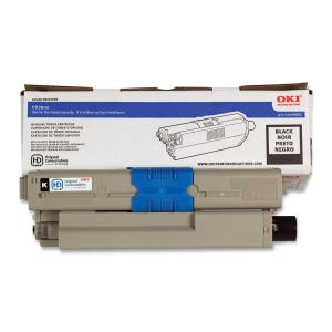 Oki High Capacity Toner Cartridge - Black - LED - 5000 Page
